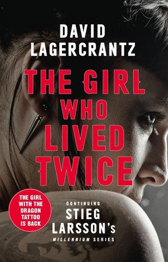 Boek cover The Girl Who Lived Twice van David Lagercrantz (Onbekend)