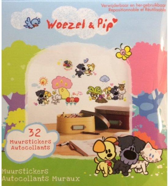 Woezel & Pip - Muursticker Tovertuin