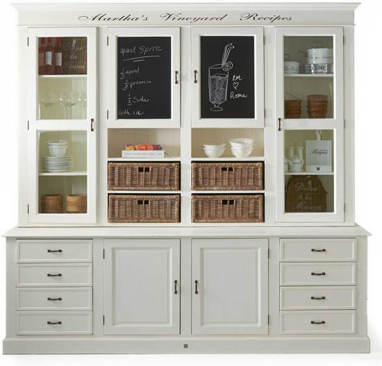 Rivièra Maison Marthas Vineyard Recipes Cabinet Buffetkast Wit