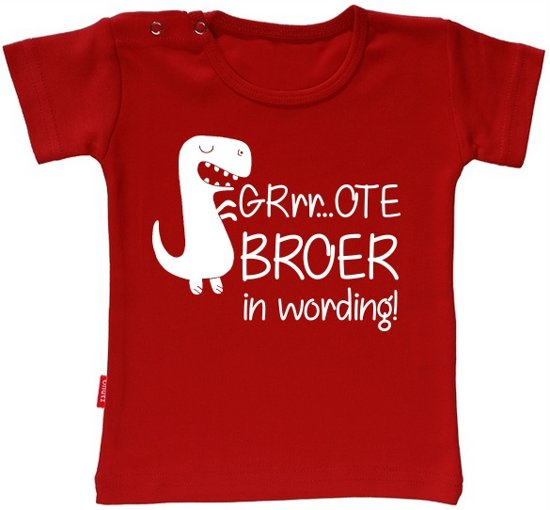 Iets Nieuws bol.com | Babygoodies T-shirt Ik Word Grote Broer - Grote broer in @XY78