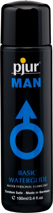 Man Basic Waterglide Glijmiddel - 100 ml