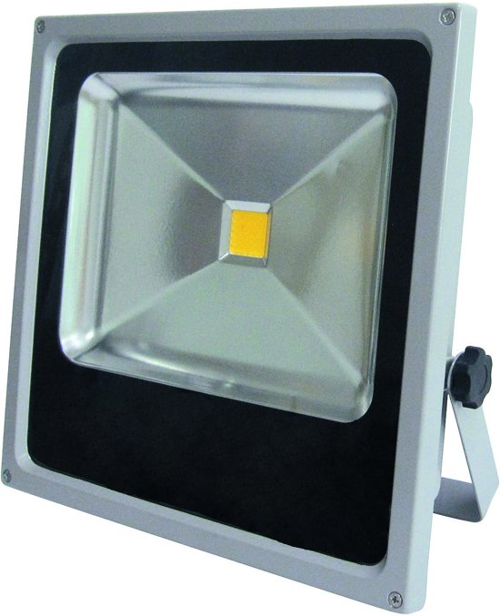 PROFILE LED straler flat - 50W - IP44 - grijs