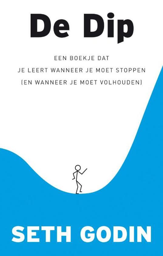 Boek cover De Dip van Seth Godin (Hardcover)