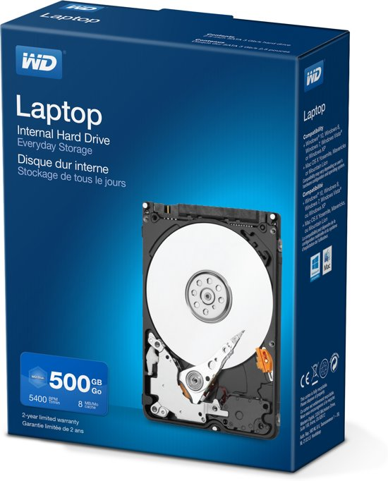 WD 500GB Laptop Mainstream