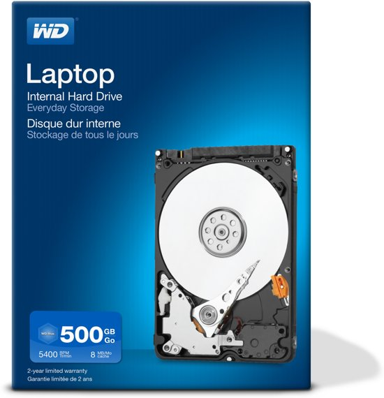 WD 500GB Laptop Mainstream