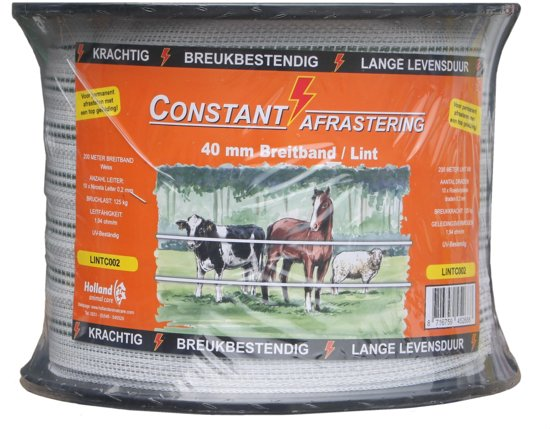 Lint Constant - 200m 40 mm - Wit