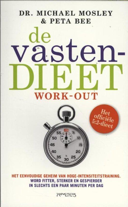 Boek cover De vastendieet work-out. Het officiële 5:2-dieet van Michael Mosley (Paperback)