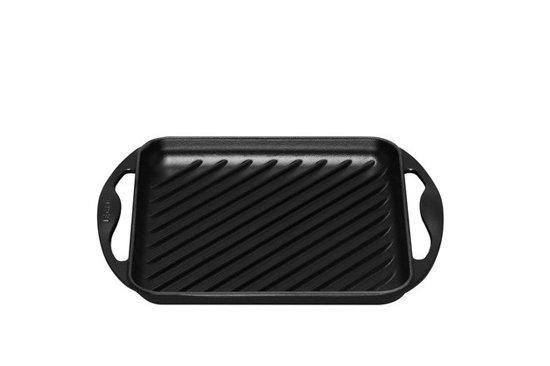 Le Creuset Grillplaat - Vierkant - 24 cm - Zwart