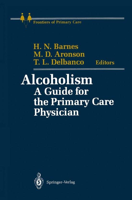Boek cover Alcoholism van Henrietta N. Barnes (Onbekend)