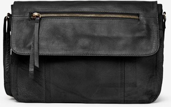 3b599cdcc5e bol.com | PIECES Kimono leather cross body Black