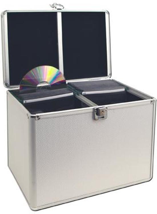 Dvd opbergkoffer koffer voor het opbergen van for Boeken opbergsysteem