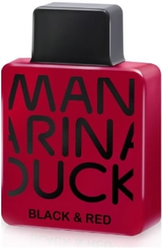 MULTI BUNDEL 2 stuks Mandarina Duck Black & Red Eau De Toilette Spray 100ml
