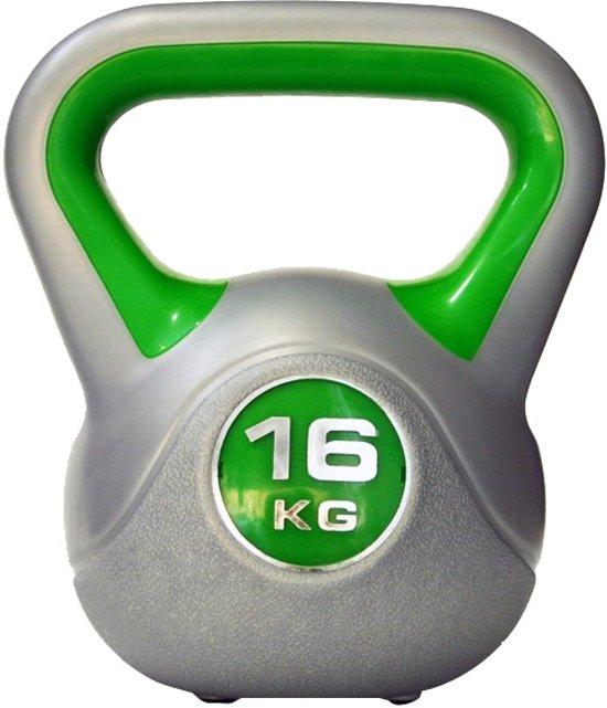 Sportbay Kettlebell - 16 kg - Grijs