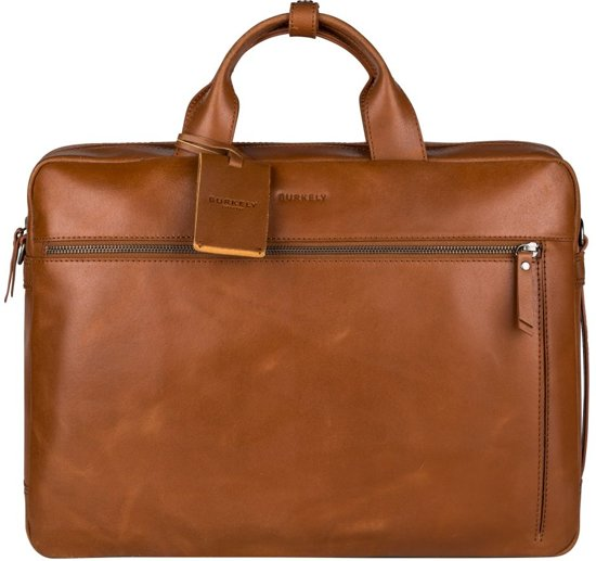 BURKELY On The Move 4-way Laptoptas 15,6 inch Rugzak - Cognac