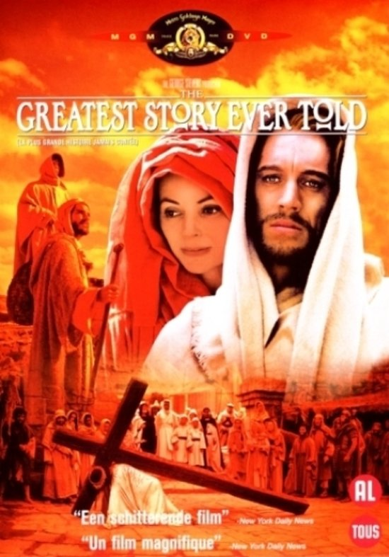 Cover van de film 'Greatest Story Ever Told'