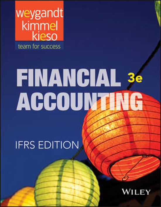 Financial Accounting - IFRS Edition