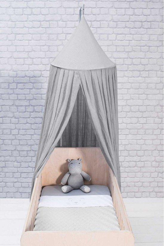 Jollein Klamboe vintage 245cm soft grey