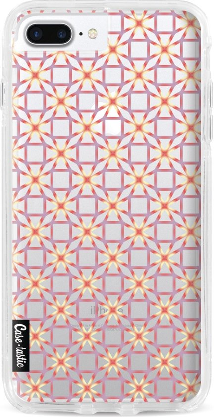 Casetastic Hard Case Apple iPhone 7 Plus / 8 Plus - Geometric Lines Sweet