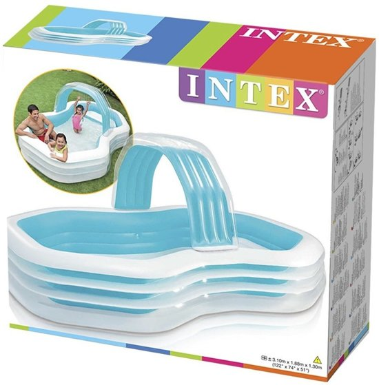 57198np - Intex family cabana pool 310x188x130cm