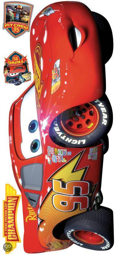 Cars Muurstickers Kinderkamer.Bol Com Roommates Muursticker Disney Cars