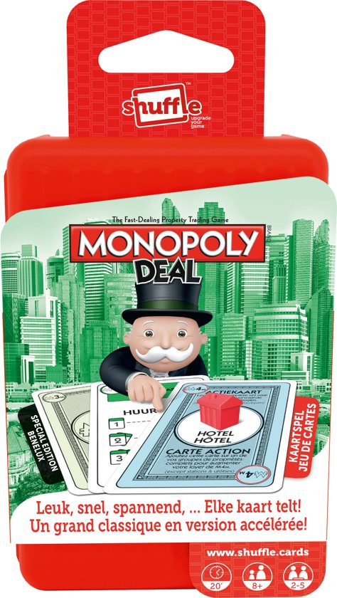 Thumbnail van een extra afbeelding van het spel Monopoly Deal - Kaartspel