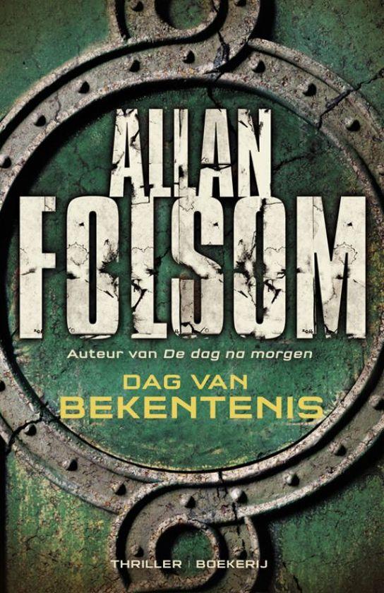 Boek cover Dag van bekentenis van Allan Folsom (Paperback)