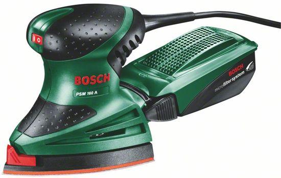 Bosch Handpalmschuurmachine PSM 160 A25 - 160 Watt - Incl. gratis 25 extra schuurvellen