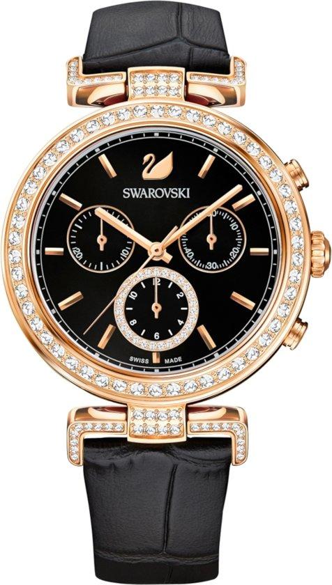 Swarovski Era Journey horloge - Zwart