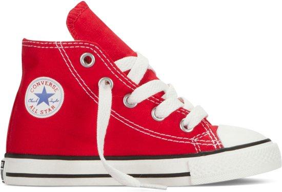 4a40091d46a bol.com | Converse Meisjes Sneakers Ctas Hi Kids - Rood - Maat 20
