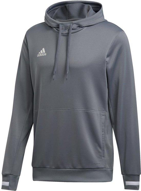 adidas T19 Hoody - Sweaters  - grijs - M