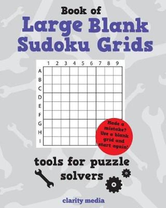 Large Blank Sudoku Grids