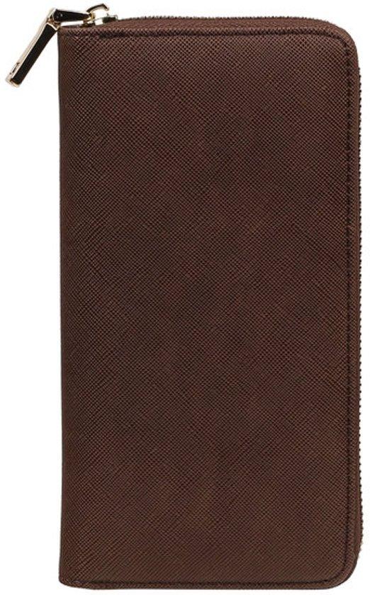 BestCases.nl Sony Xperia C4 Luxe Leder look Portemonnee dames/heren - Bruin
