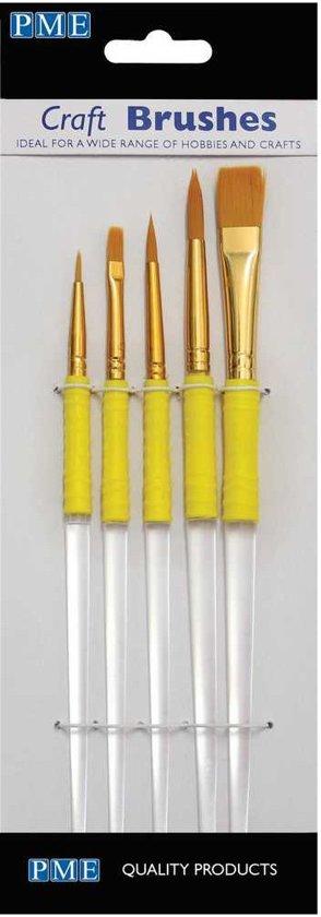 PME Brush & Penselen set/5