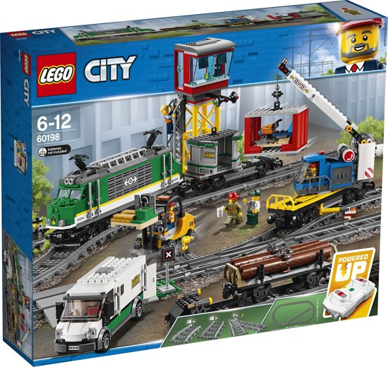LEGO City Vrachttrein - 60198