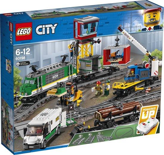 Afbeelding van LEGO City Vrachttrein - 60198 speelgoed