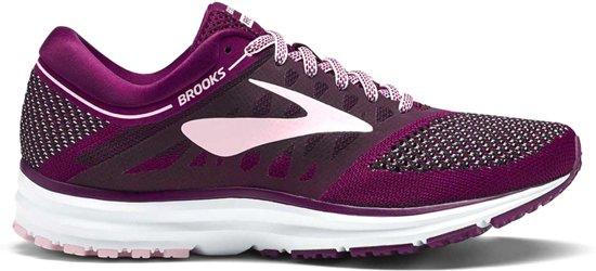 low priced d0423 bfb4e Brooks Revel hardloopschoenen Dames Sportschoenen - Maat 39 - Vrouwen -  paars