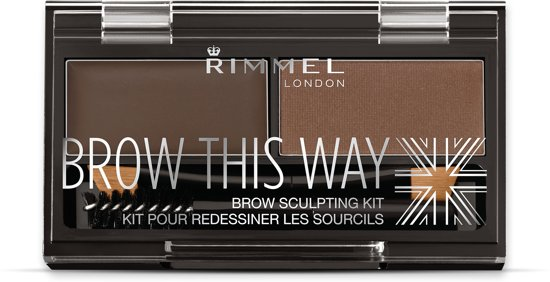 Rimmel London Brow this Way Wenkbrauwpoeder - 003 Brown