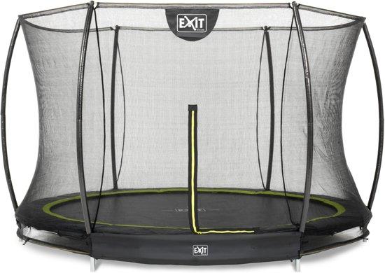 EXIT Silhouette Inground Trampoline à 305 cm met Veiligheidsnet