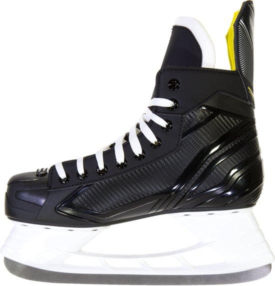 Bauer Schaatsen - Maat 42 - Unisex - zwart/geel/wit