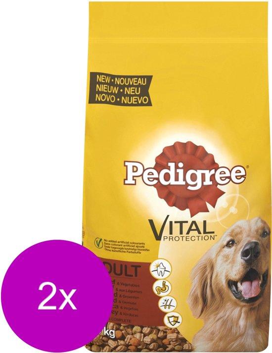 Pedigree Adult Rund&Vlees - Hondenvoer - 2 x 10 kg