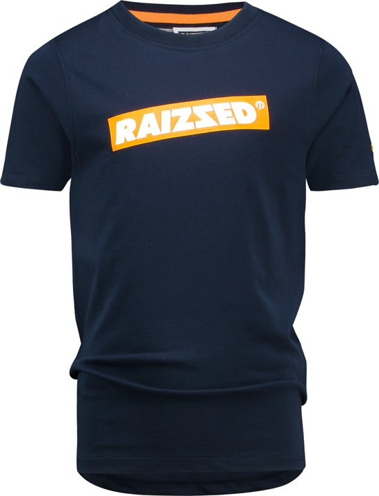Raizzed Jongens T-shirt - Dark Blue - Maat 128