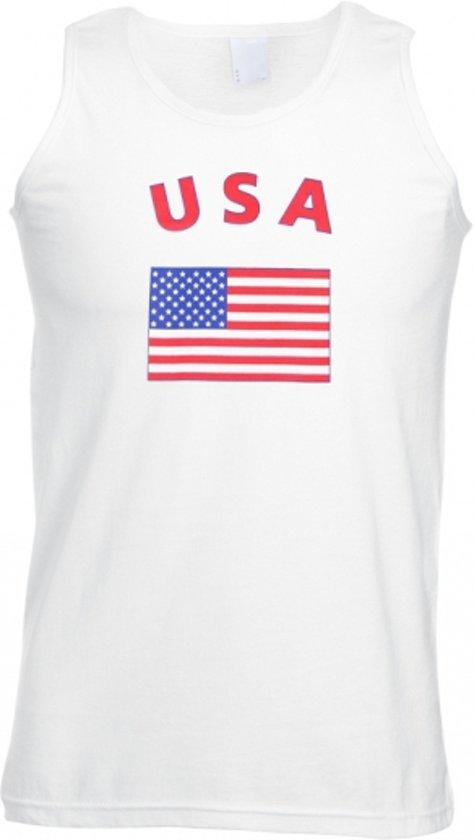 USA/ Amerika tanktop heren Xl