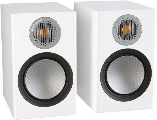 Monitor Audio Silver 50 - Boekenplank Speaker - Wit