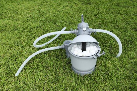 POLYSPHERE -FLOWCLEAR - vervanging voor het zand  - filter - zwembad - pomp