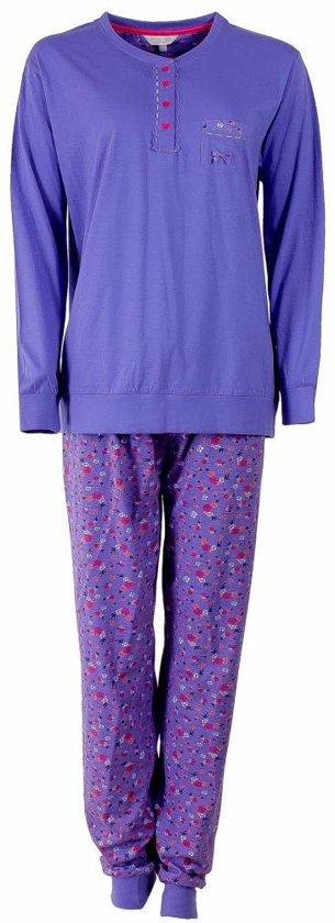 e9895da0d03 Tenderness Dames Pyjama Blauw Maten: XL