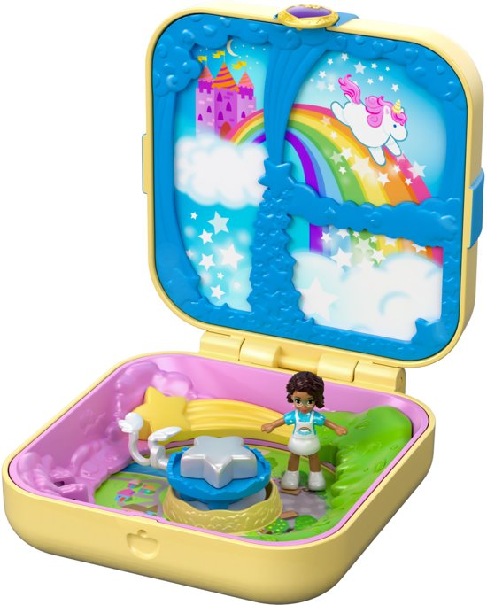 Polly Pocket Hidden Hideouts Shani's Wonderland - Speelfigurenset