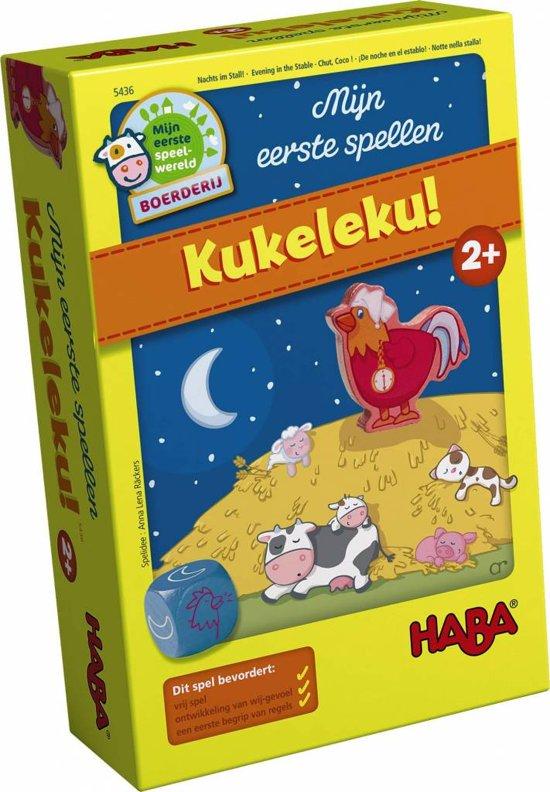Spel - Mijn eerste spellen - Kukeleku! (Nederlands) = Duits 4676 - Frans 5447