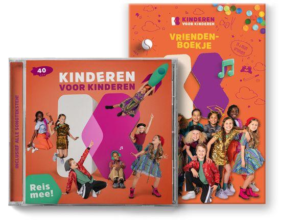 CD cover van Kinderen voor Kinderen 40 - Reis Mee! +  Vriendenboekje (Exclusief bij bol.com) van Kinderen voor Kinderen