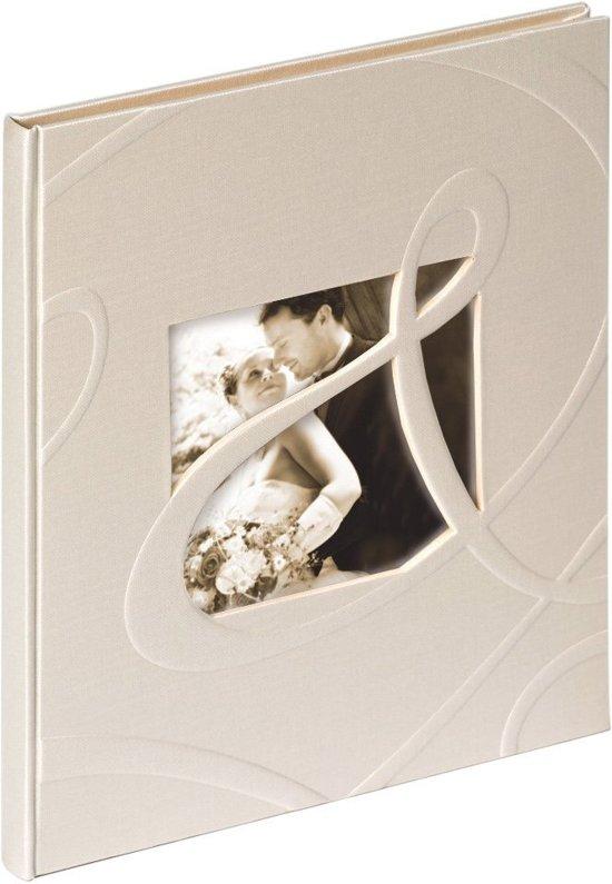 Walther Design GB-122 Ti Amo - Gastenboek Huwelijk - 23 x 25 cm - Crème - 144 pagina's Valentinaa