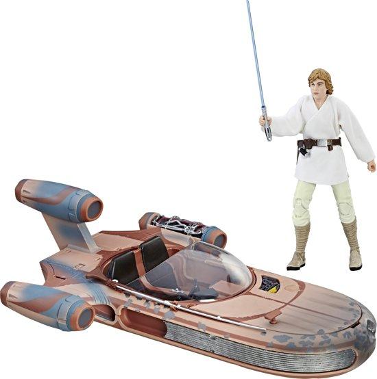 Star Wars The Black Series Luke Skywalker Landspeeder - 15 cm